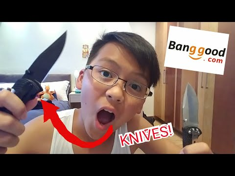 FREE MULTIFUNCTIONAL KNIFES FROM BANGGOOD!!!REVIEW+UNBOXING!