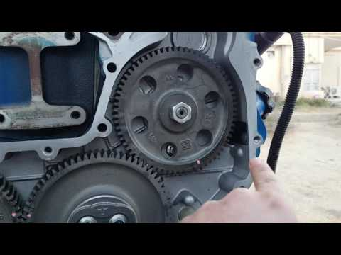 perkins 1103 TDC and Delphi fuel injection pump removal