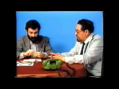 El Misterio de la Psicofonia - Entrevista a Sinesio Darnell (TV Sabadell, 1987)