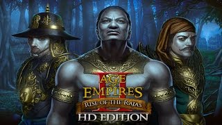Age of Empires 2 HD: Rise of the Rajas Gameplay - Khmer Ballista Elephant Horde