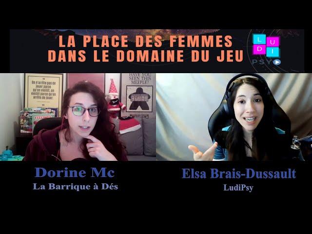La Place des Femmes dans le Domaine du Jeu: Dorine Mc, créatrice de contenu à La Barrique à Dés?
