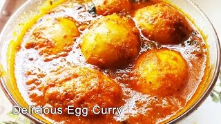 Egg Curry  | Egg Recipes By Cook With Sonali