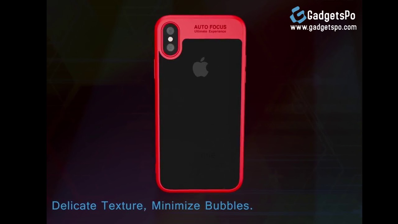 Ultra Thin Shockproof Case For Iphone X Gadgetspo Youtube Baseus Simple Anti Shock 7 47 Soft Tpu