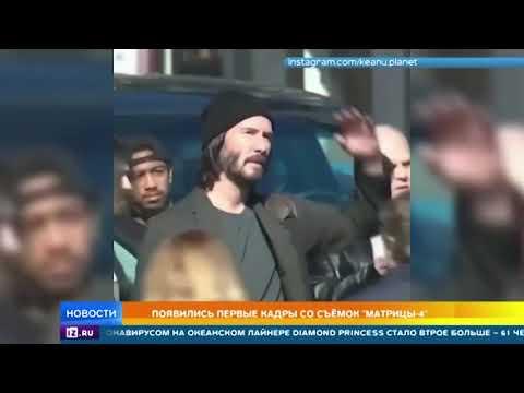 """Появились первые кадры со съемок новой """"Матрицы"""""""