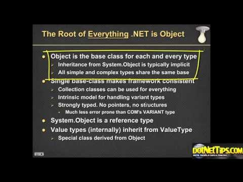 dotNetDave Explains... .NET Common Type System