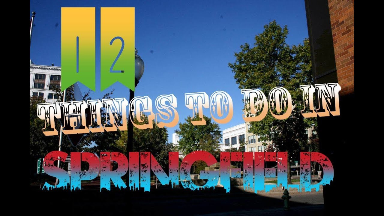 Top 12 Things To Do In Springfield, Missouri   YouTube