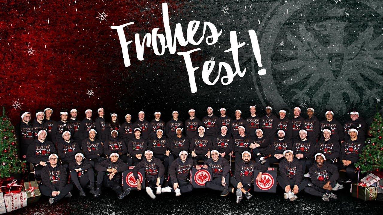 Weihnachtsgrüße Team.Eintracht Weihnachtsgrüße Weihnacht Frankfurt