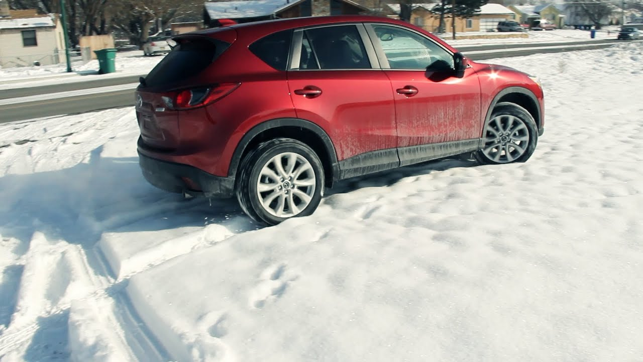 2013 mazda cx-5 review and snow test drive! off road! - youtube