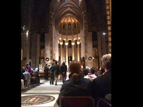 oh holy night the cathedral of st john the divine christmas eve 2014 nyc youtube
