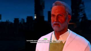 Fallout 4 - Shaun banishes his father after he let the synths go free