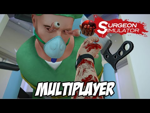 Surgeon Simulator MULTIPLAYER - COITADO DO BOB