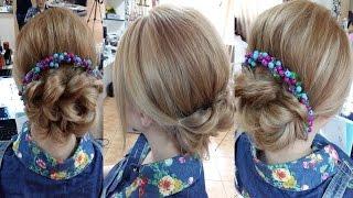 Причёска с помощью резинок(Подписывайтесь на канал, чтобы не пропустить новые видео ;) https://www.youtube.com/user/sniganka?sub_confirmation=1 Давайте дружить!..., 2015-04-26T13:41:27.000Z)