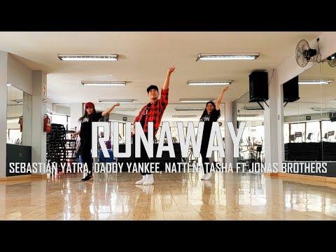 Runaway - Sebastián Yatra - Daddy Yankee - Natti Natasha Ft. Jonas Brothers - Flow Dance Fitnesss