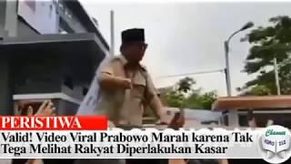 Gambar cover Viral Video Prabowo Marah Sampai Pukul Keamanan, Ini Penjelasan Jubir BPN