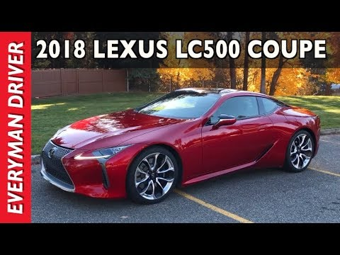 Just Arrived: $100,000 2018 Lexus LC 500 Coupe On Everyman Driver