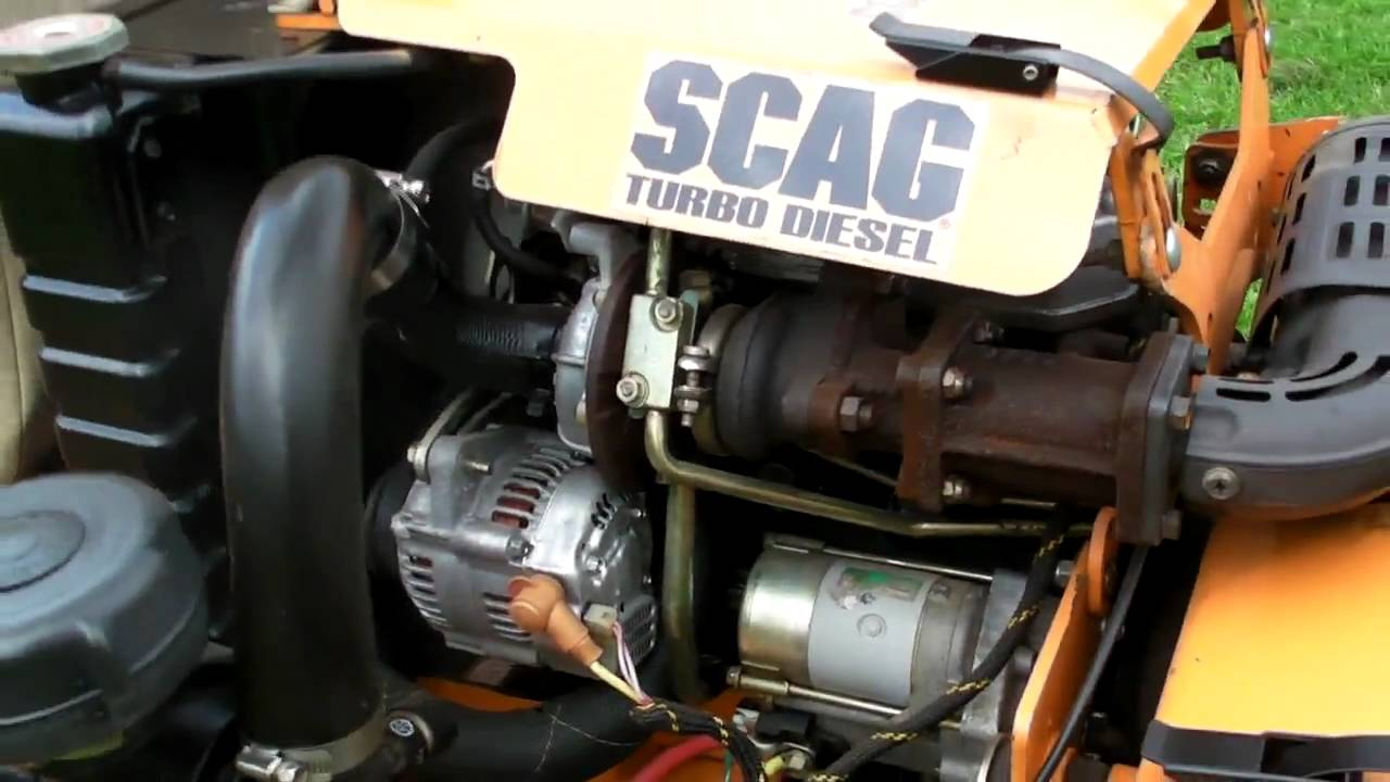 Scag 72 Sabre Tooth Tiger Diesel Commercial Lawn Mower