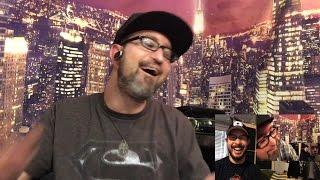 James reacts - reacts to kylo ren/rey scene (reenactment) (reactception  8/26/16)