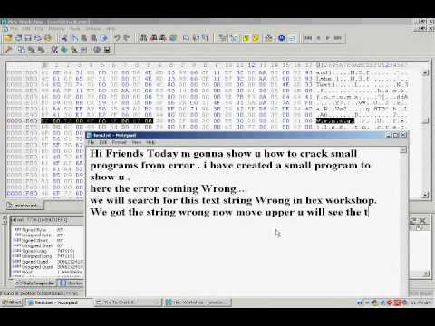 How to crack Small Programs through Error Message.wmv