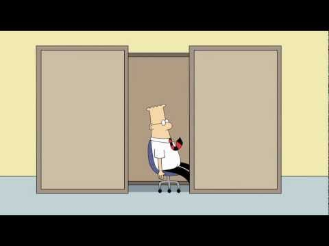 Dilbert Animated Cartoons - Bad Day And The Importance Of Strategies