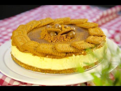 #وجبات_15_ثانية | تشيزكيك اللوتس - Lotus Cheesecake