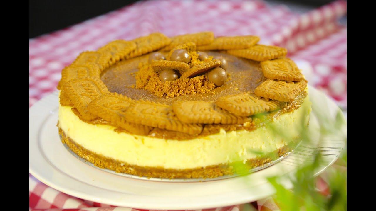 #وجبات_15_ثانية : تشيزكيك اللوتس - Lotus Cheesecake