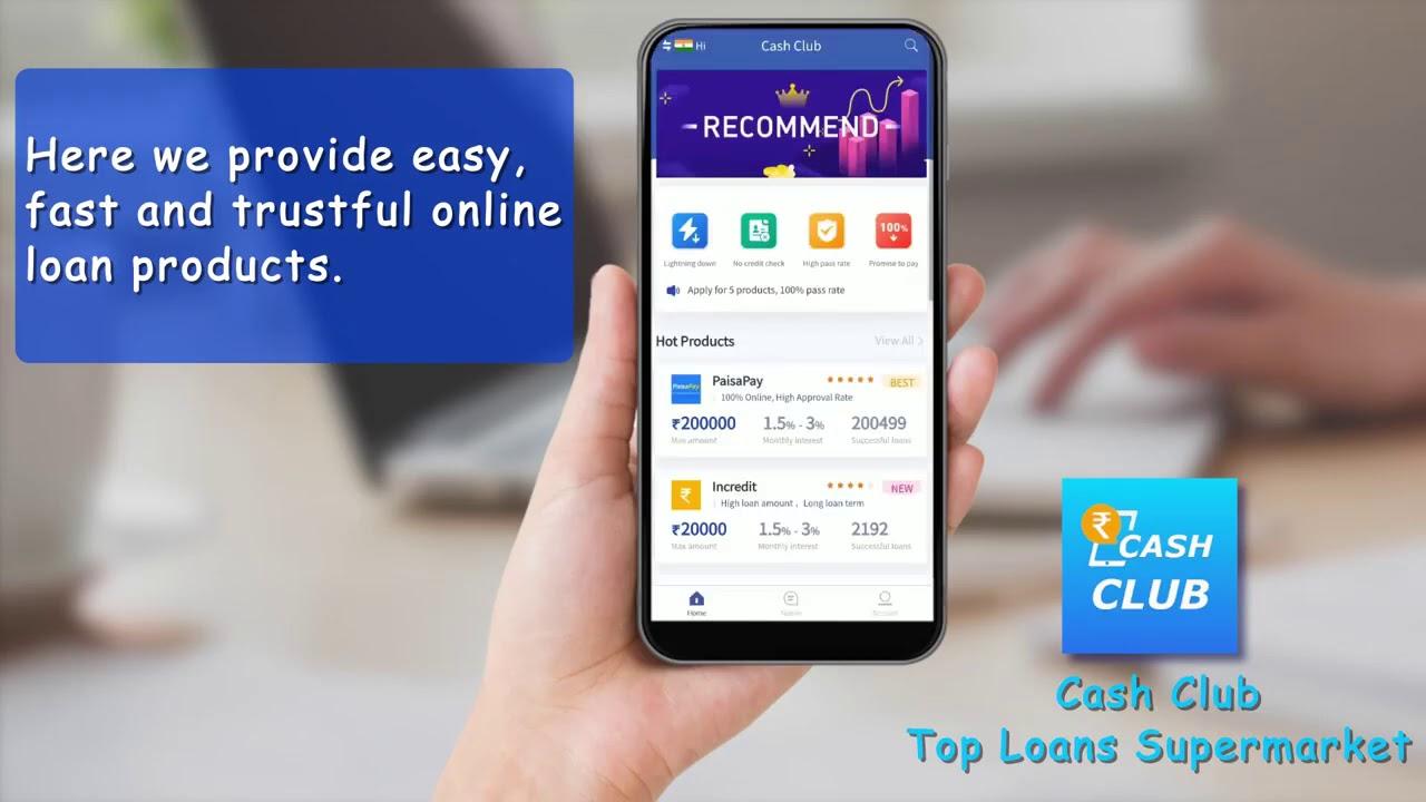 CashClub - Cash Loans, Fast & Easy Personal Loan // Online ...