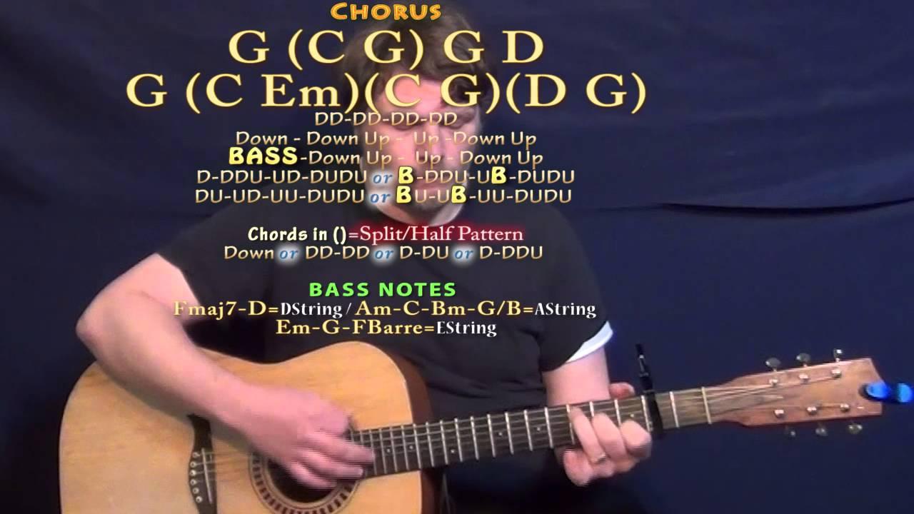 Bass Capo Chart Use An Easy Capo Chord Chart To Play Guitar Ooh La