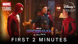 SPIDER-MAN: NO WAY HOME (2021) Opening Scene - FIRST 2 MINUTES | Marvel Studios