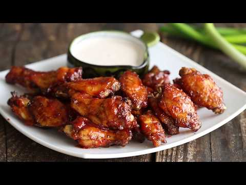 Oven BBQ Chicken Wings