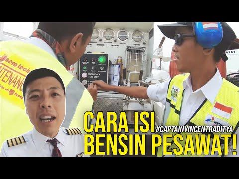 TERUNGKAP CARA ISI BENSIN PESAWAT - TANYA PILOT