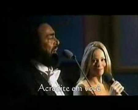 Mariah Carey Duet With Luciano Pavarotti - Hero (ao Vivo)