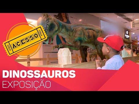 Exposição de dinossauros  - TV SOROCABA/SBT