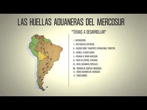 Las Huellas Aduaneras del Mercosur