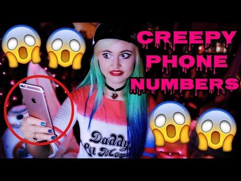CREEPY PHONE NUMBERS TO CALL!