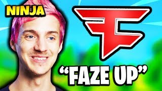 NINJA JOINING FAZE CLAN LEAKED | Fortnite Daily Funny Moments Ep.166