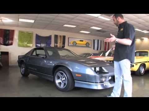 1988 Chevrolet Camaro IROC-Z for sale with test drive, driving sounds, and walk through video