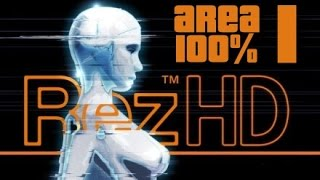 Rez HD Xbox 360 - area 1 100%