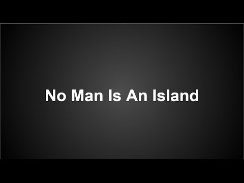 No Man Is An Island - UF Adventist Campus Ministry