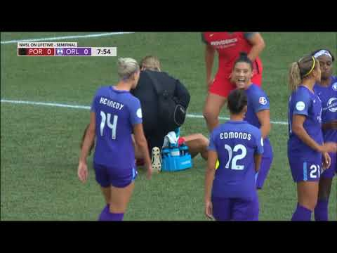 NWSL on Lifetime: Portland Thorns vs. Orlando Pride (First Semifinal)