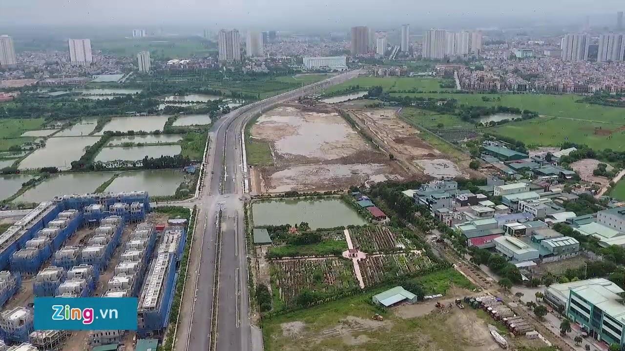 Toàn cảnh đường Phúc La mới 1500 tỷ nối Thanh Hà Cienco 5 – Nguyễn Xiển (vành đai 3)