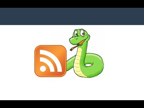 Scraping RSS feeds using Python