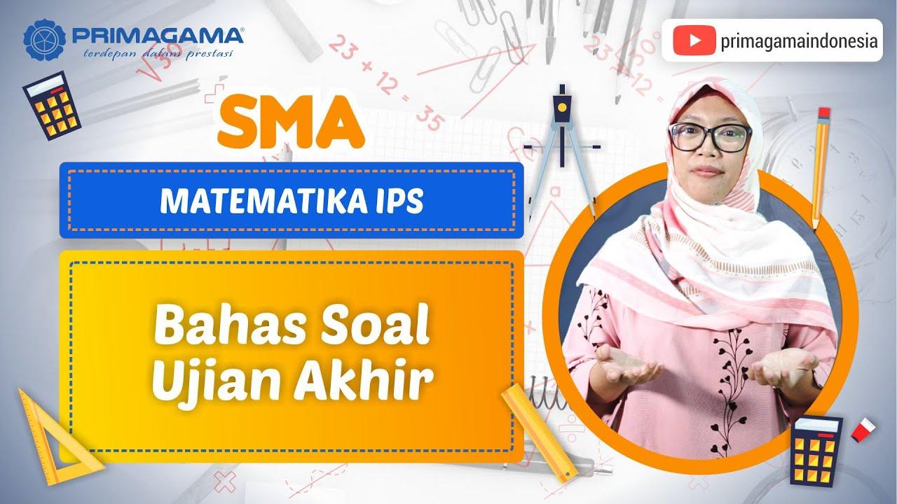 Video Pembelajaran | SMA | Matematika IPS | Bahas…