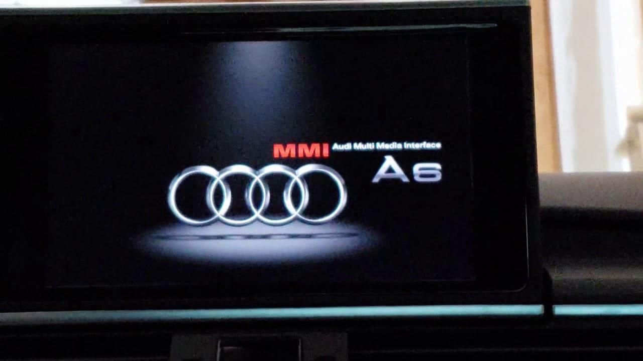 Audi A6 C7 MMI 3G+ Map update - DIY