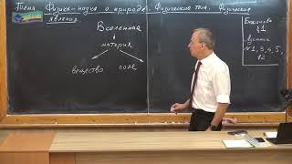 Урок 1 (осн). Физика  - наука о природе