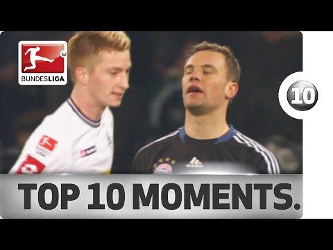 Top 10 Moments - Borussia Mönchengladbach vs. Bayern München