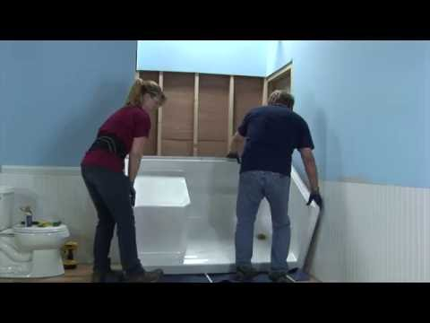 Multi-Piece Low Threshold Shower Installation Video