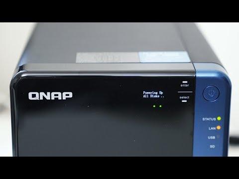 My NEW 32TB NAS STORAGE SYSTEM - QNAP TS-453B Setup VLOG