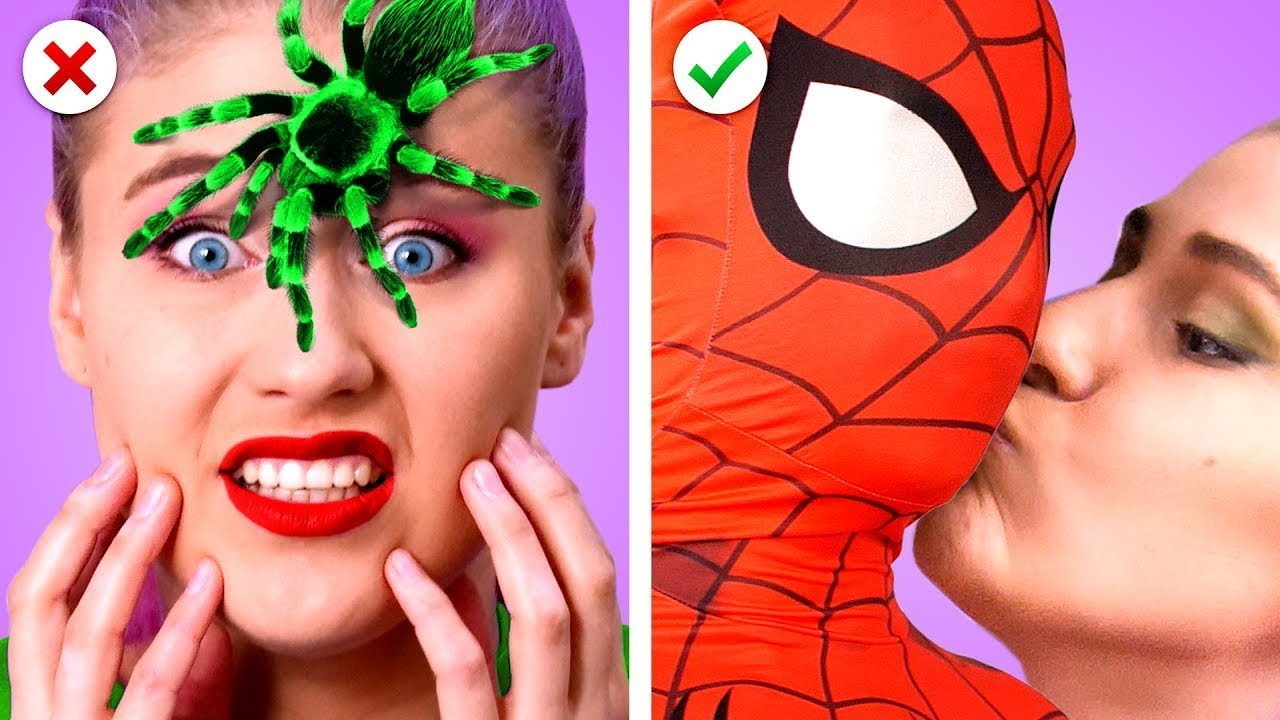 COUPLE PRANKS by Superheroes! Prank Wars & Funny Situations