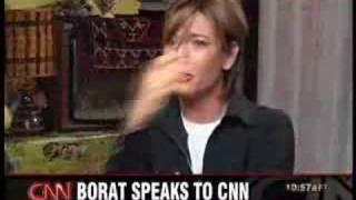 borat interview on cnn