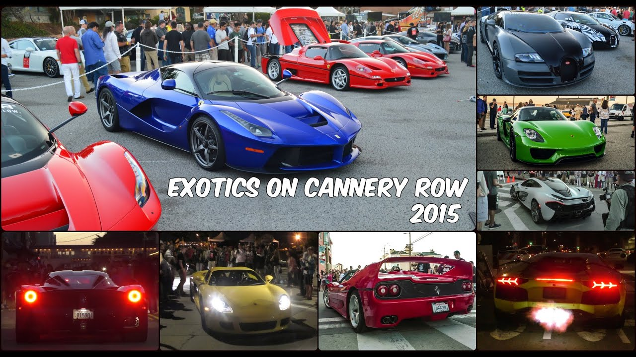 Monterey Cannery Row Car Show